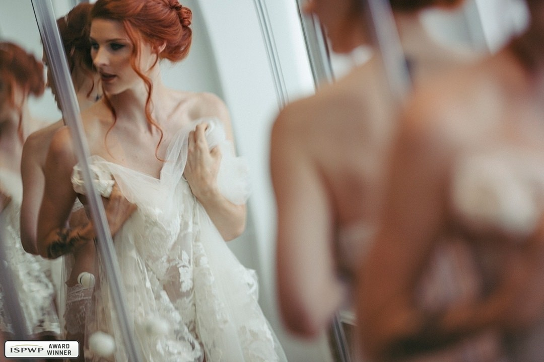 Wedding Photography Contest Winner - 1st Place: Getting Ready - Julien Scussel Photography