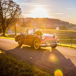 International Society of Wedding Photographers blog - Beautiful Cars and Beautiful Weddings, 31 Wedding Pictures Showing How to Travel in Style