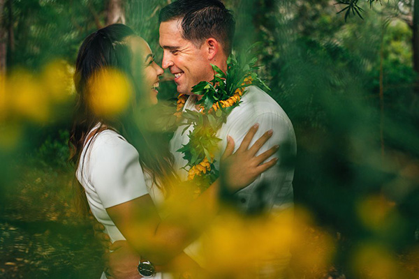Best wedding photographers in Victoria (Colombie-Britannique): Hawaii for Lovers