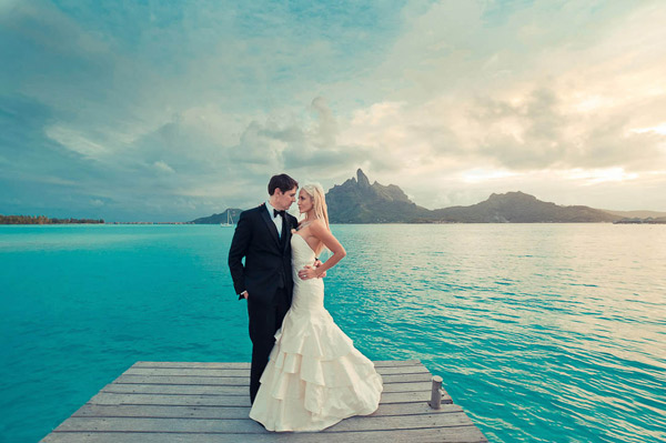 Bora Bora, French Polynesia Wedding Photographer - helene havard photography