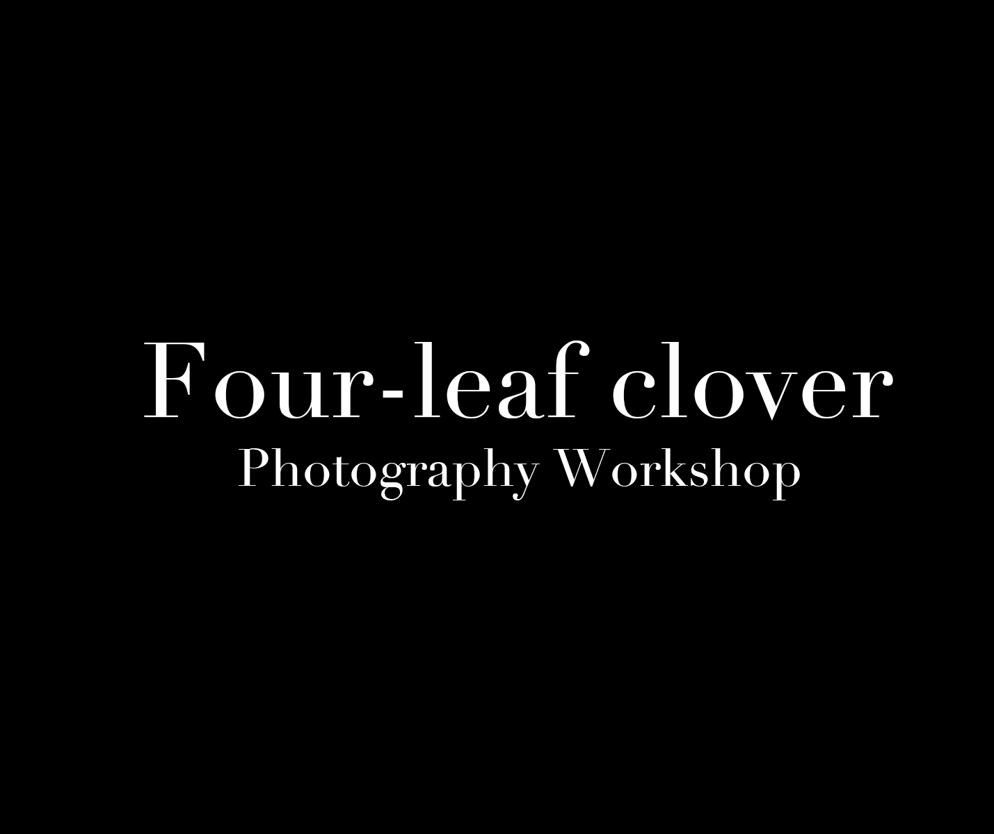Best wedding photographers in Taiwan: Four-leaf clover Photography Workshop