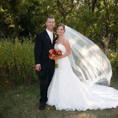 International Society of Wedding Photographers blog - Real Weddings | Milwaukee Wedding Photographer Kimberley Bednarski Anderson | Marriott Milwaukee West | Amy and Derek