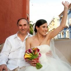 International Society of Wedding Photographers blog - Real Weddings | Hotel Sofitel Santa Clara, Cartagena, Columbia | Laura and Felipe | By Miami Wedding Photographer Claudia Cebrian