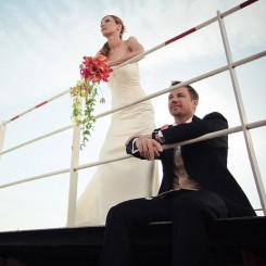 International Society of Wedding Photographers blog - Real Weddings | Elb-Panorama, Hamburg Germany | Sonja & Hendrik | by Hamburg Wedding Photographer Roland Michels
