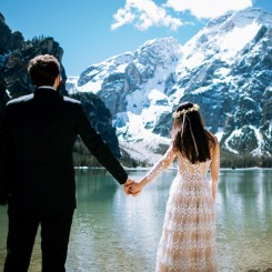 International Society of Wedding Photographers blog - Carmen and Alberto-Lago di Braies- Roberta De Min