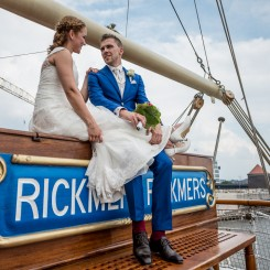 International Society of Wedding Photographers blog - Wedding in Fleet 3 - Port of Hamburg