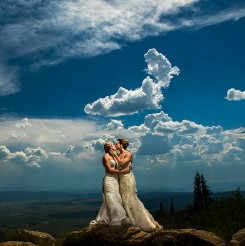 International Society of Wedding Photographers blog - Real Wedding - Steamboat Springs, Colorado - J. La Plante Photo
