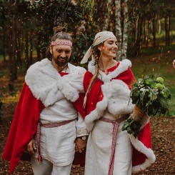 International Society of Wedding Photographers blog - Magic Outdoor Slavic Wedding