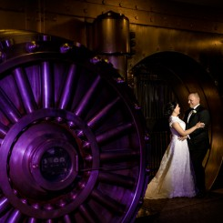 International Society of Wedding Photographers blog - One King West Winter Wedding by Diego and Liza Photography