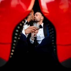 International Society of Wedding Photographers blog - Same-Sex Drake Devonshire Wedding - Joe and Glenn
