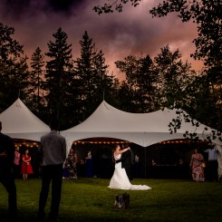 International Society of Wedding Photographers blog - Backyard Jewish Wedding - Deborah and Erik