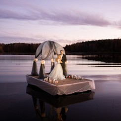International Society of Wedding Photographers blog - Karelia. Intimate Wedding
