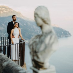 International Society of Wedding Photographers blog - Robert and Penelope's Perfect Elopement In Villa Cimbrone, Ravello