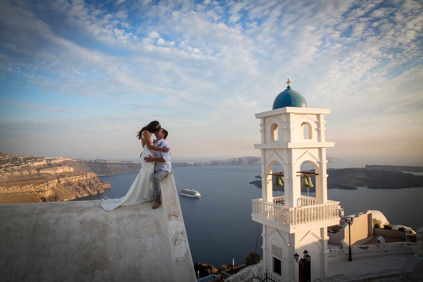 Santorini, Greece Wedding Photographer - Thanasis Papadopoulos - ap photography